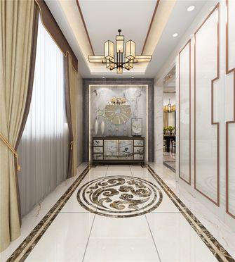 140平米别墅中式风格玄关装修案例