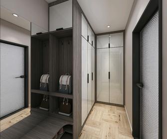 100平米三室一厅混搭风格衣帽间设计图