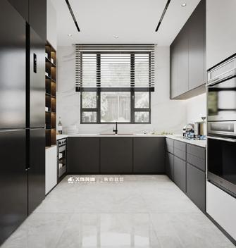豪华型140平米别墅现代简约风格厨房欣赏图