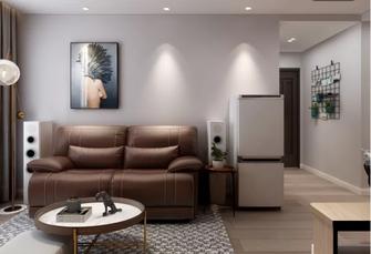 90平米一居室北欧风格客厅装修图片大全