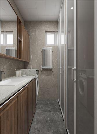 90平米美式风格卫生间设计图