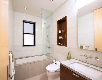 130平米三室一厅北欧风格卫生间浴室柜欣赏图