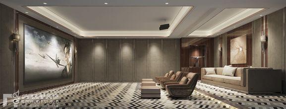 140平米别墅欧式风格影音室装修案例