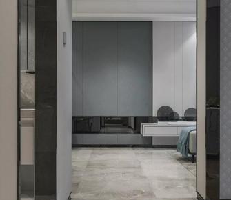 120平米三室一厅现代简约风格卧室装修图片大全