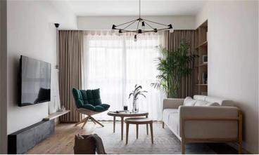 100平米公寓日式风格客厅装修案例