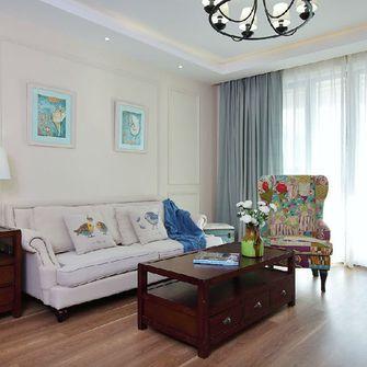 130平米四室一厅地中海风格客厅图片大全