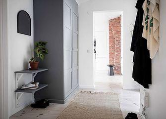 80平米公寓北欧风格玄关装修案例