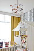 90平米三室两厅新古典风格儿童房图片