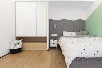 90平米北欧风格卧室装修图片大全
