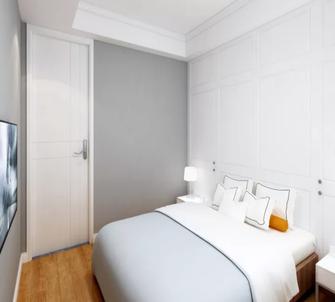 90平米三现代简约风格卧室装修效果图