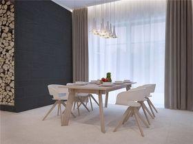100平米三室一廳北歐風格餐廳圖片