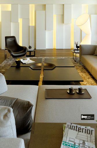 豪华型140平米四室五厅现代简约风格客厅设计图