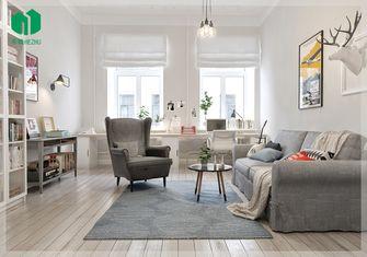100平米北欧风格客厅效果图