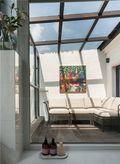 140平米别墅法式风格阳光房效果图
