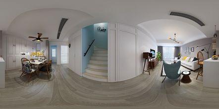 140平米复式北欧风格楼梯间图片大全