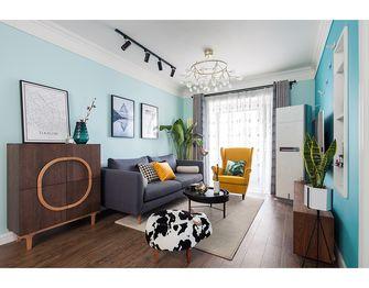 100平米三室两厅宜家风格客厅图片