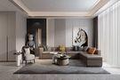 140平米复式现代简约风格客厅装修效果图