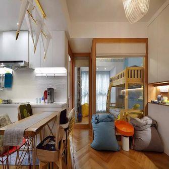 60平米现代简约风格客厅图片