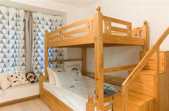 5-10万80平米三室两厅田园风格卧室图