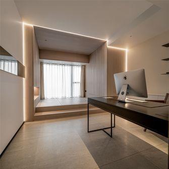 140平米四室两厅现代简约风格书房图