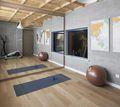 140平米四室两厅混搭风格健身室效果图
