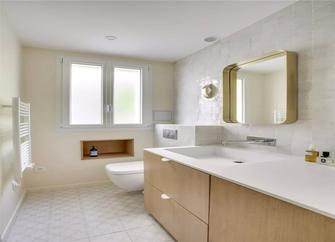 50平米一室一厅现代简约风格卫生间欣赏图