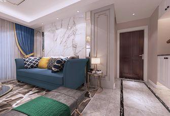 110平米三室三厅欧式风格客厅图片