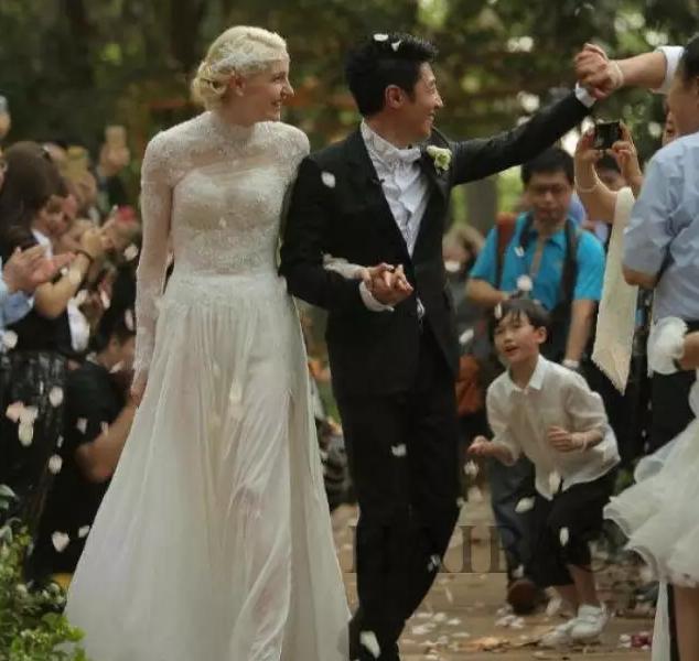 撒贝宁和李白的婚礼原来这么小清新