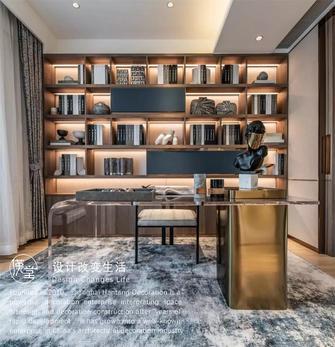 140平米复式英伦风格书房效果图