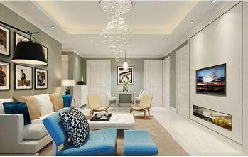 富裕型130平米三室两厅东南亚风格影音室装修案例