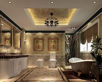 120平米三室两厅东南亚风格卫生间欣赏图