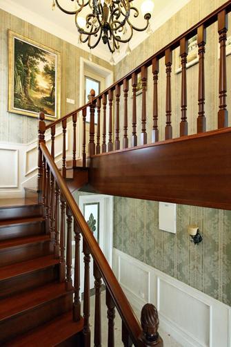 豪华型130平米复式美式风格楼梯图片大全