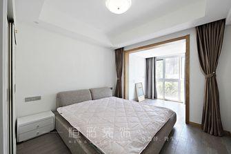 富裕型80平米三室两厅中式风格卧室装修案例