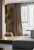 140平米三室两厅现代简约风格阳光房效果图