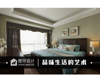 110平米三东南亚风格卧室设计图