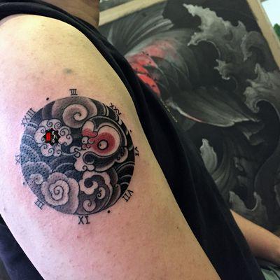 手腕小清新纹身图图片