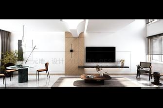 豪华型120平米复式现代简约风格餐厅装修效果图
