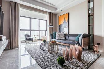 100平米三现代简约风格客厅装修案例