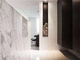 80平米现代简约风格玄关背景墙设计图