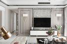 140平米三室一厅混搭风格客厅装修案例