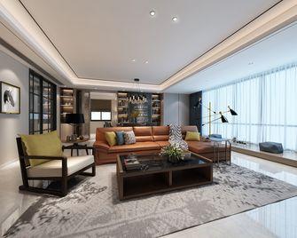 110平米三室两厅现代简约风格客厅装修案例
