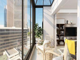 140平米四室一厅混搭风格阳台装修案例