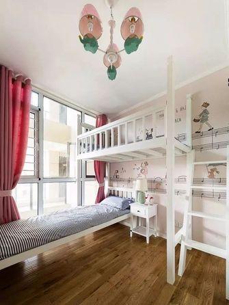 80平米美式风格儿童房图