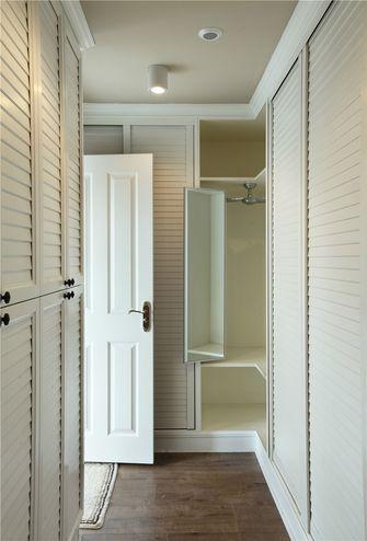 140平米四室五厅美式风格衣帽间设计图