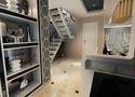 5-10万120平米三室一厅现代简约风格楼梯装修案例