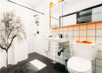 90平米三室两厅混搭风格卫生间欣赏图