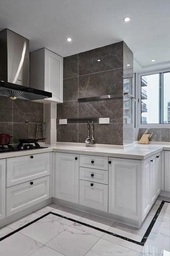 120平米三美式风格厨房装修效果图