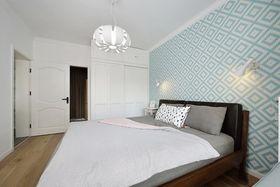 70平米北欧风格卧室装修效果图