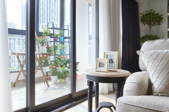100平米三室两厅田园风格阳台装修效果图