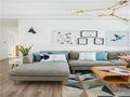 80平米公寓宜家风格客厅图片